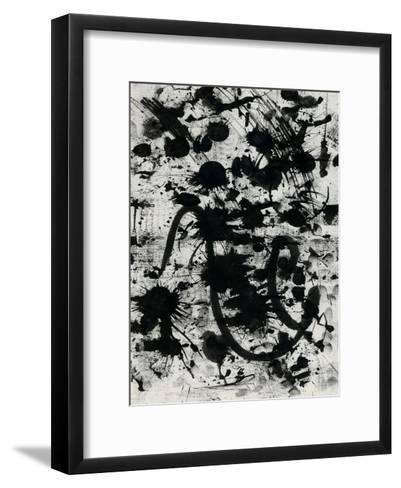Splatter-OnRei-Framed Art Print