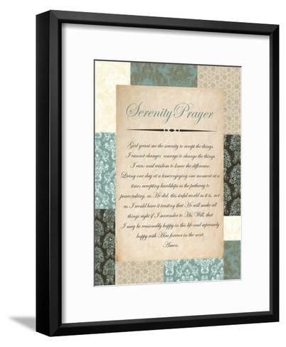 Serenity Blue-Taylor Greene-Framed Art Print