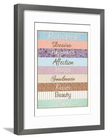 Romance Patterns-Lauren Gibbons-Framed Art Print