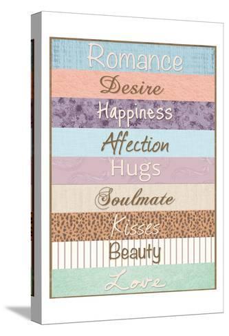 Romance Patterns-Lauren Gibbons-Stretched Canvas Print