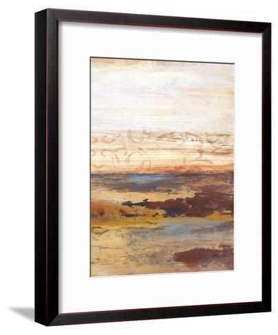 Earthy Horizons B-Smith Haynes-Framed Art Print