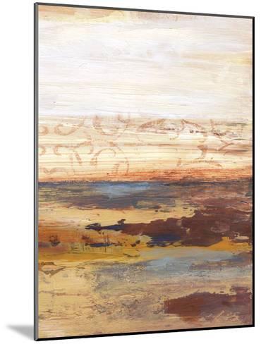 Earthy Horizons B-Smith Haynes-Mounted Art Print