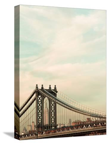 Manhattan Color-Tracey Telik-Stretched Canvas Print