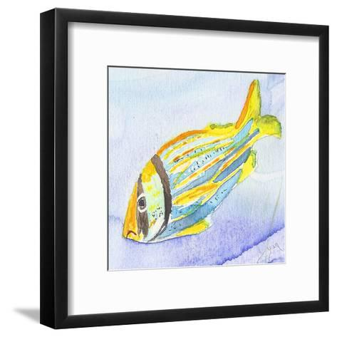 Tropical Fishy III-Beverly Dyer-Framed Art Print