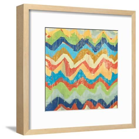 New Chevrons A-Cynthia Alvarez-Framed Art Print