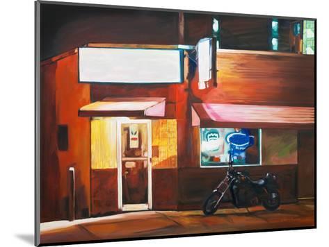 Biker Bar-Katrina Swanson-Mounted Art Print