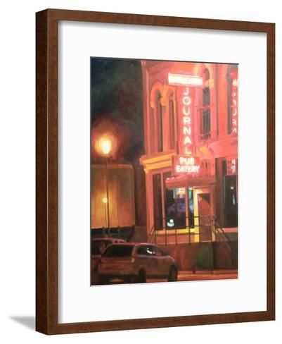 Meeting-Katrina Swanson-Framed Art Print