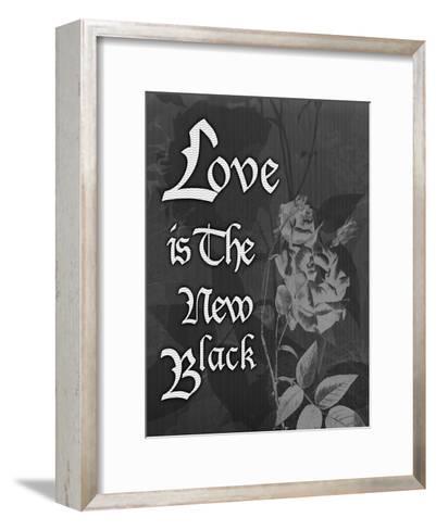Love And Black-Tony Pazan-Framed Art Print