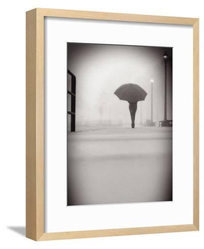The Umbrella Walker 9-Sandro De Carvalho-Framed Art Print