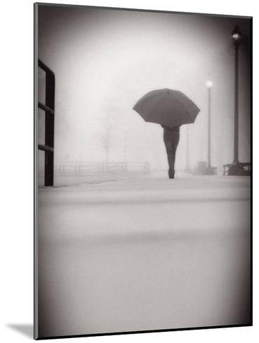 The Umbrella Walker 9-Sandro De Carvalho-Mounted Art Print