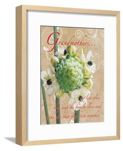 Grandmothers Glue 1-Sheldon Lewis-Framed Art Print