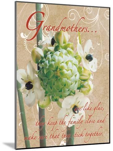 Grandmothers Glue 1-Sheldon Lewis-Mounted Art Print