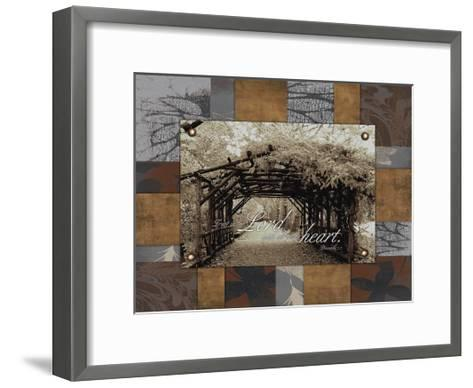 Trust the Lord-Jace Grey-Framed Art Print