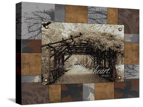 Trust the Lord-Jace Grey-Stretched Canvas Print