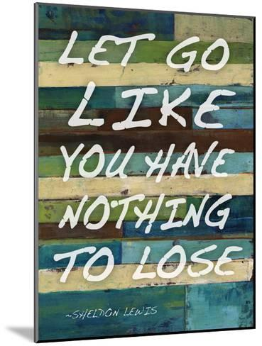 Let Go-Smith Haynes-Mounted Art Print