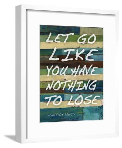 Let Go-Smith Haynes-Framed Art Print
