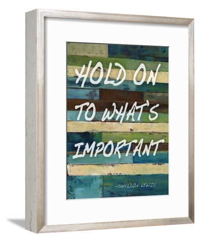 Hold On-Smith Haynes-Framed Art Print