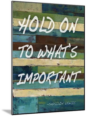 Hold On-Smith Haynes-Mounted Art Print