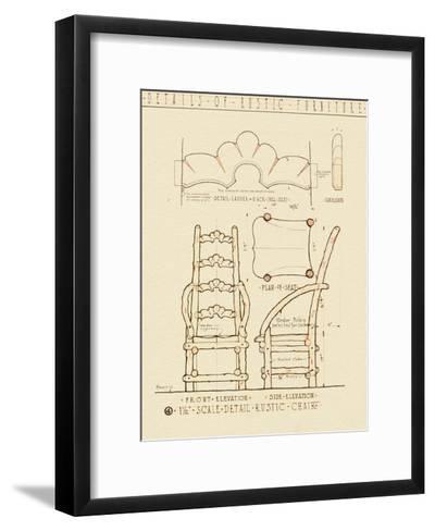 Rustic Furniture 1-Tina Carlson-Framed Art Print