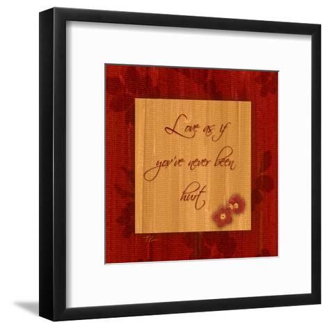 1 Love-Tony Pazan-Framed Art Print