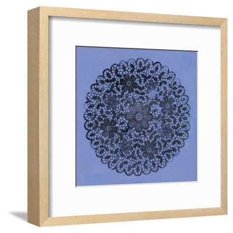 Blue Doily-Smith Haynes-Framed Art Print
