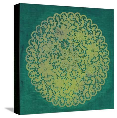 Lime Doily-Smith Haynes-Stretched Canvas Print