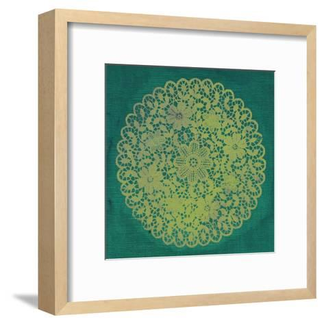 Lime Doily-Smith Haynes-Framed Art Print