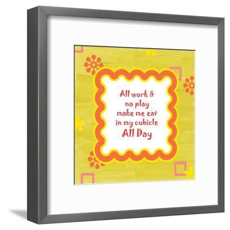 Play-Tony Pazan-Framed Art Print