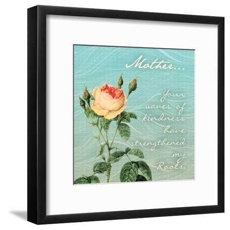Strengthened Rose-Tony Pazan-Framed Art Print