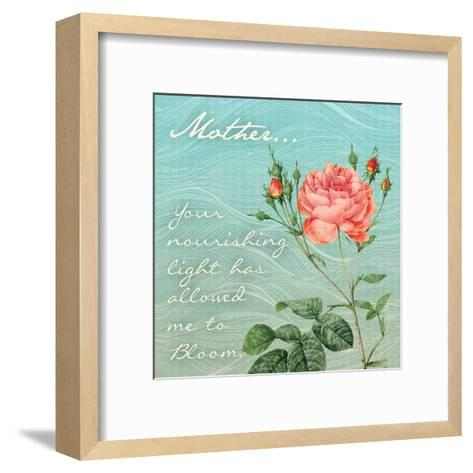 Nourished Rose-Tony Pazan-Framed Art Print