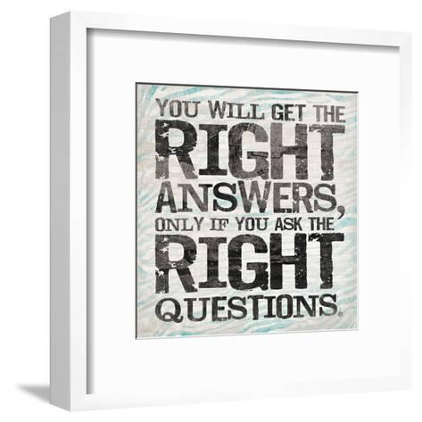 Answer 2-OnRei-Framed Art Print