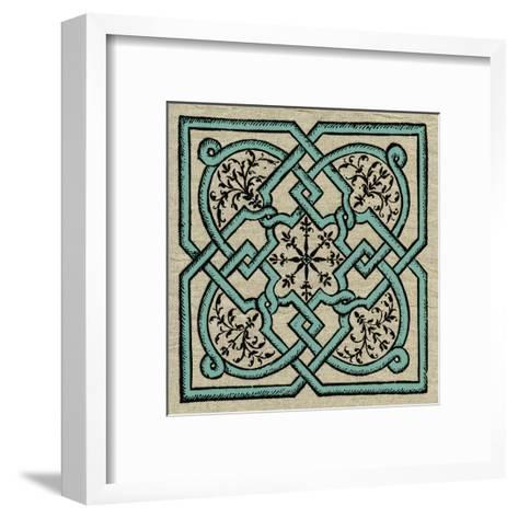 Wood Cut E3-Tina Carlson-Framed Art Print