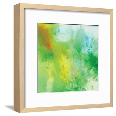 Watercolor-OnRei-Framed Art Print