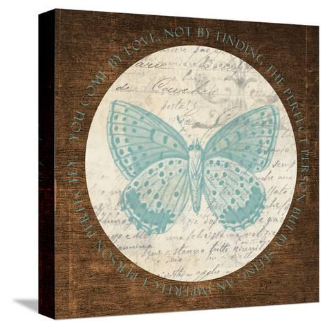 Love Butterfly 2-Taylor Greene-Stretched Canvas Print