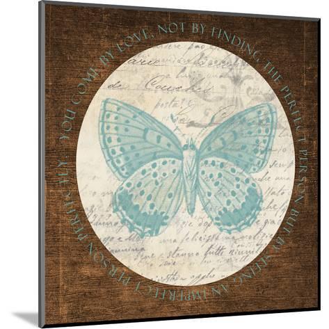 Love Butterfly 2-Taylor Greene-Mounted Art Print