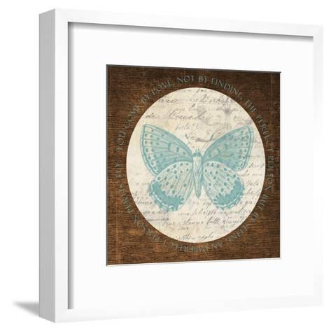 Love Butterfly 2-Taylor Greene-Framed Art Print