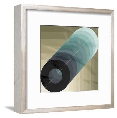 Geo Circle-OnRei-Framed Art Print