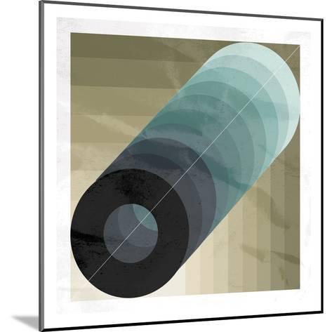 Geo Circle-OnRei-Mounted Art Print