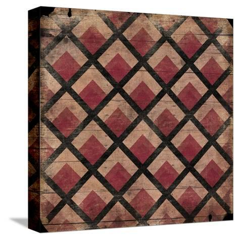 Ox Blood Pattern-Jace Grey-Stretched Canvas Print
