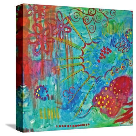 Turquoise Day-Pam Varacek-Stretched Canvas Print