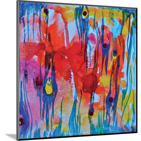 Blue Tiger-Pam Varacek-Mounted Art Print
