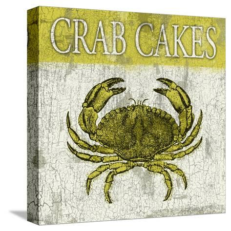 Crab Cakes-Jace Grey-Stretched Canvas Print