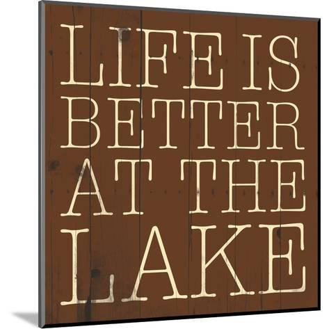 Better at the Lake-Jace Grey-Mounted Art Print