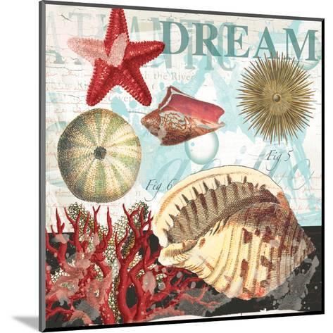 Red Dream Shells-Ophelia & Co^-Mounted Art Print