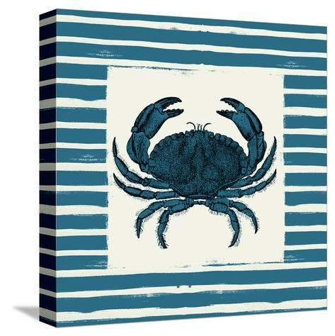 Crab-Jace Grey-Stretched Canvas Print