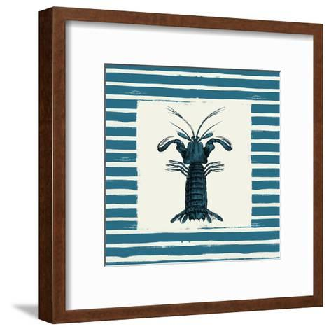 Lobster-Jace Grey-Framed Art Print