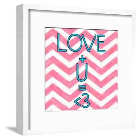 Love Plus (ver 2)-Taylor Greene-Framed Art Print