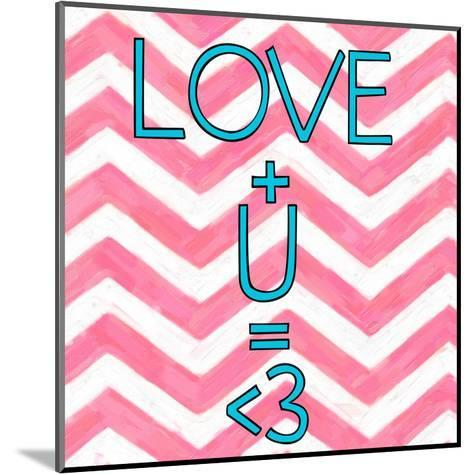 Love Plus (ver 2)-Taylor Greene-Mounted Art Print