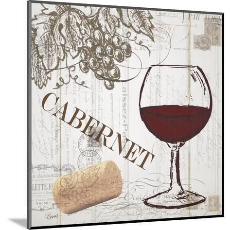 Vintage Wine 2-Carole Stevens-Mounted Art Print