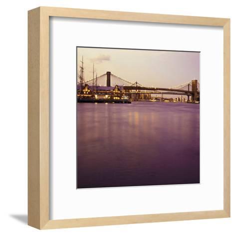 Brooklyn Purple-Tracey Telik-Framed Art Print